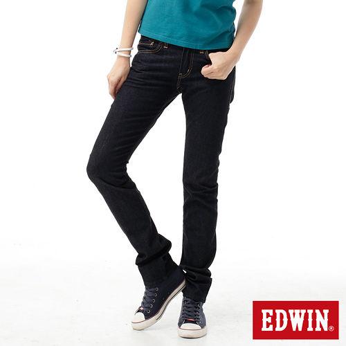 EDWIN 503ZERO窄直筒牛仔褲~女款 原藍色