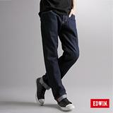EDWIN XV直筒牛仔褲-男-原藍色