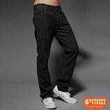 【5th STREET】細膩工藝 經典窄直筒保溫褲-男款(暗灰色)