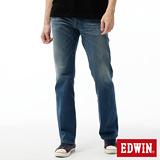EDWIN 503ZERO直筒牛仔褲-男-石洗藍
