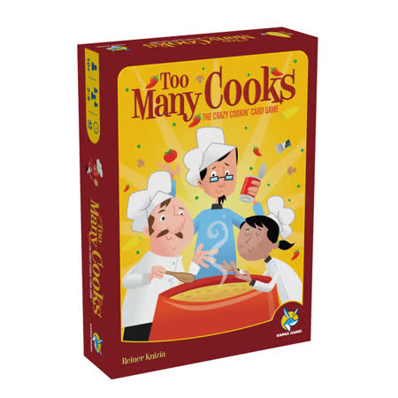 (任選) 諾貝兒益智玩具 歐美桌遊 料理廚王 Too Many Cooks(中文版)