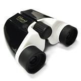 Obest 10×22 高清雙筒望遠鏡(中央調焦+右眼微調) - 鋼琴黑