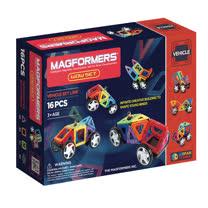 【Magformers 磁性建構片】迷你車16pcs ACT05911