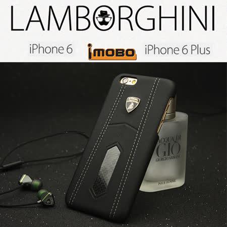 義大利藍寶堅尼Lamborghini 授權iPhone 6/6S 頂級真皮碳纖維手機背殼(4.7吋)