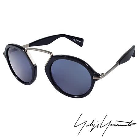 Yohji Yamamoto 山本耀司復古圓形太陽眼鏡-藍-YY5009-613