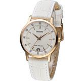 東方錶 ORIENT 美好年代時尚腕錶 FUNG6002W