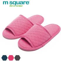 M Square旅行舒適棉開口拖鞋