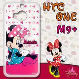 迪士尼授權正版 HTC One M9 Plus /M9+ 透明軟式手機殼(優雅米妮)