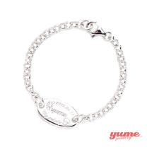 【YUME】YumexMyMelody聯名小橢圓牌訂做手鍊-歡樂好朋友系列