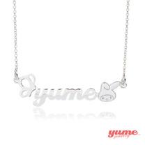 【YUME】YumexMyMelody聯名超迷你名字項鍊-田園風情系列