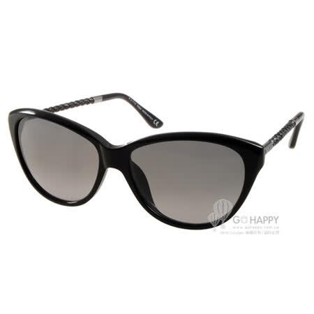 TOD'S太陽眼鏡 簡約小貓眼款(黑) #TOD9082 01B