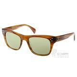 OLIVER PEOPLES太陽眼鏡 經典偏光款(咖啡) #JACK HUSTON 1011P1