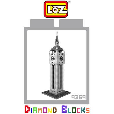 LOZ 鑽石積木 9369 大笨鐘 建築系列 腦力激盪 益智玩具