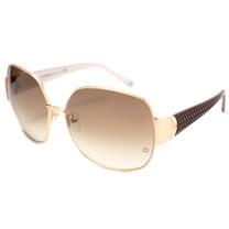 萬寶龍 MONTBLANC-時尚太陽眼鏡(鐵灰色/金色)MB315S