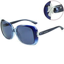 SWAROVSKI-時尚太陽眼鏡(漸層藍/黑色)SW9027