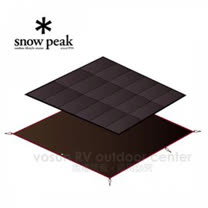 日本 Snow Peak 公司貨 Amenity Dome Mat/Sheet Set/AD帳蓬內泡棉墊地布組(睡墊 + 地布)-帳內泡綿墊.地毯.聚酯纖維_ SET-121
