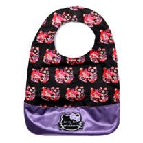 【美國Ju-Ju-Be媽咪包】HelloKitty聯名款BeNeat雙面防潑水嬰兒圍兜-Hello Perky 絢爛花叢