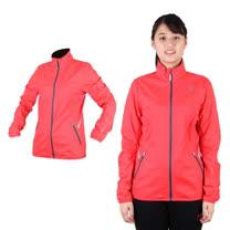 (女) PUMA NIGHTCAT反光立領風衣外套- 防風 慢跑 路跑 莓紅銀