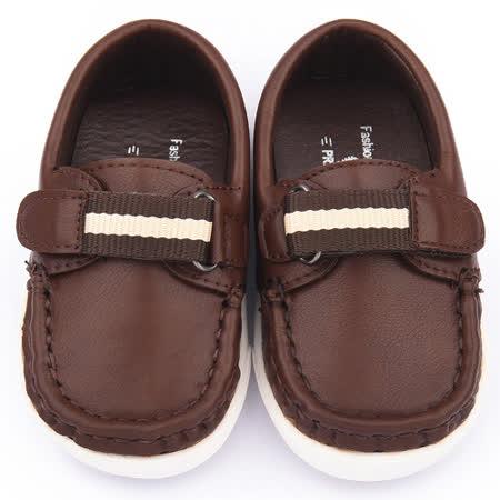 童鞋城堡-二等兵 小童 手工縫製經典休閒鞋5508-咖啡