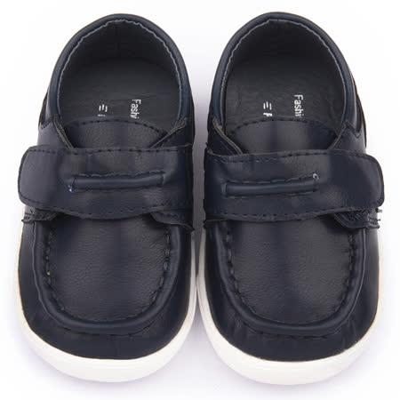 童鞋城堡-二等兵 小童 手工縫製小紳士休閒鞋5509-藍
