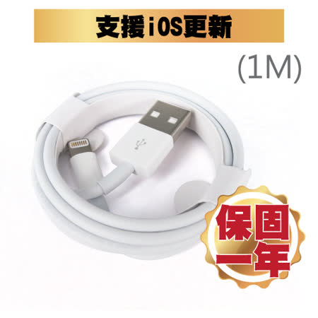 [買一送一]APPLE Lightning 8PIN 原廠傳輸線 1米 /100cm IPHONE6 / 7 / 8 / X通用