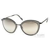 OLIVER PEOPLES太陽眼鏡 貓眼造型款(銀-透黑) #GWYNNE 50416V