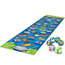 【美國教學資源】亞馬遜河鱷魚跳 - 地板遊戲 LER9544