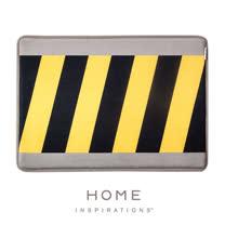 【Home】趣味記憶綿浴墊 - 施工警示(Warning)