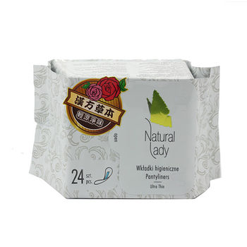 NATURAL LADY漢方草本衛生棉日用10片