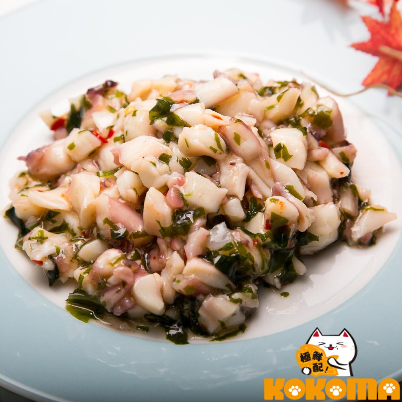 【極鮮配】芥末魷魚 200g 包  微辣的口感 吃了回味無窮