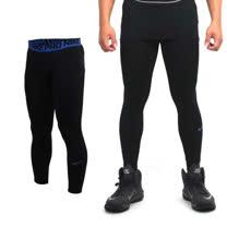 (男) NIKE PRO 彈力緊身長褲-緊身褲 慢跑 路跑 黑藍