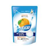 (任選)【橘子工坊】重油汙碗盤洗滌液補充包430ml
