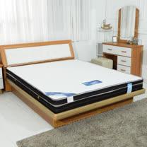 HAPPYHOME 英式3尺單人雙色三線獨立筒彈簧床墊GA16-3