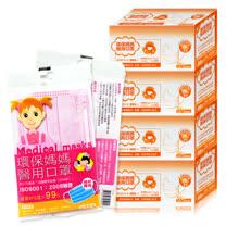 環保媽媽-醫用口罩<br/>粉紅色(50片)共4盒