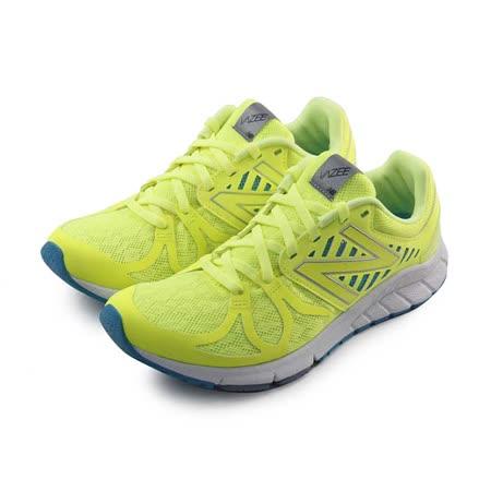 (女)NEW BALANCE 慢跑鞋 螢光黃/藍-WRUSHYL