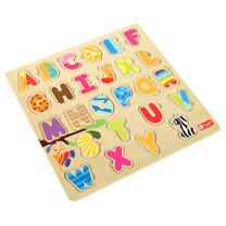 Classic world 德國經典木玩客來喜 字母配對拼圖