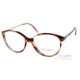 Tiffany&CO.眼鏡 時尚貓眼款(琥珀) #TF2059B 8081