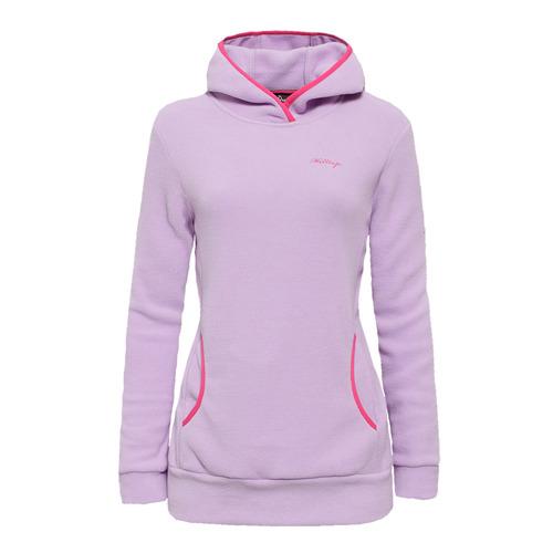 【hilltop山頂鳥】女款Zisofit保暖刷毛連帽上衣H51FF5-紫