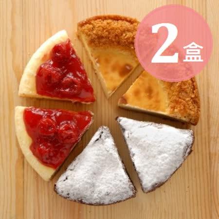 【亞尼克】微笑拍檔切片6吋(6入/盒)×2盒
