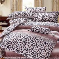 SHINEE 天然木漿纖維《爵士洛可》雙人100%天絲四件式兩用被床包組