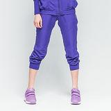 TOP GIRL 束口防風八分褲-紫