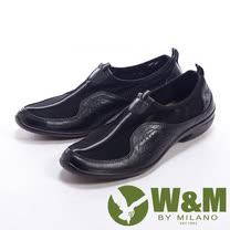 W&M (女)日系甜美蝴蝶結造型平底娃娃鞋-咖