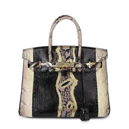 放大 往前      分享到 降价特卖    手工彩绘蟒蛇皮包/高贵奢华