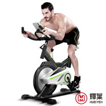 輝葉 黑騎士飛輪健身車(全罩式鑄鐵鏡面飛輪)