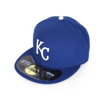 MLB NEW ERA 皇家隊帽-AC- 59FIFTY 藍白