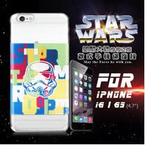 STAR WARS 星際大戰 iPhone 6/6s i6s 4.7吋 彩繪軟式手機殼 保護殼(彩兵頭)