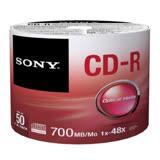 SONY CD-R 48X 700MB 白金片裸裝 (100片)