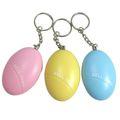 便攜式鑰匙扣警報器(橢圓)藍/粉/黃三色