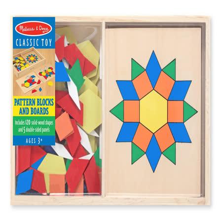 【美國 Melissa & Doug】木製七巧板 MD029