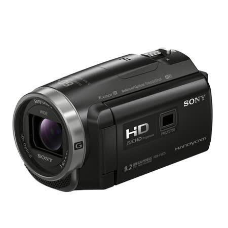 SONY HDR-PJ675 投影系列高畫質攝影機(公司貨).-送原廠鋰電池(FV50)+專用充電器(FV)+蔡司拭鏡紙+保護貼+讀卡機+SONY經典銅牌對杯